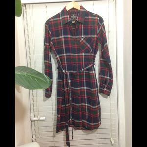 United By Blue Murray Flannel Dress Size Small